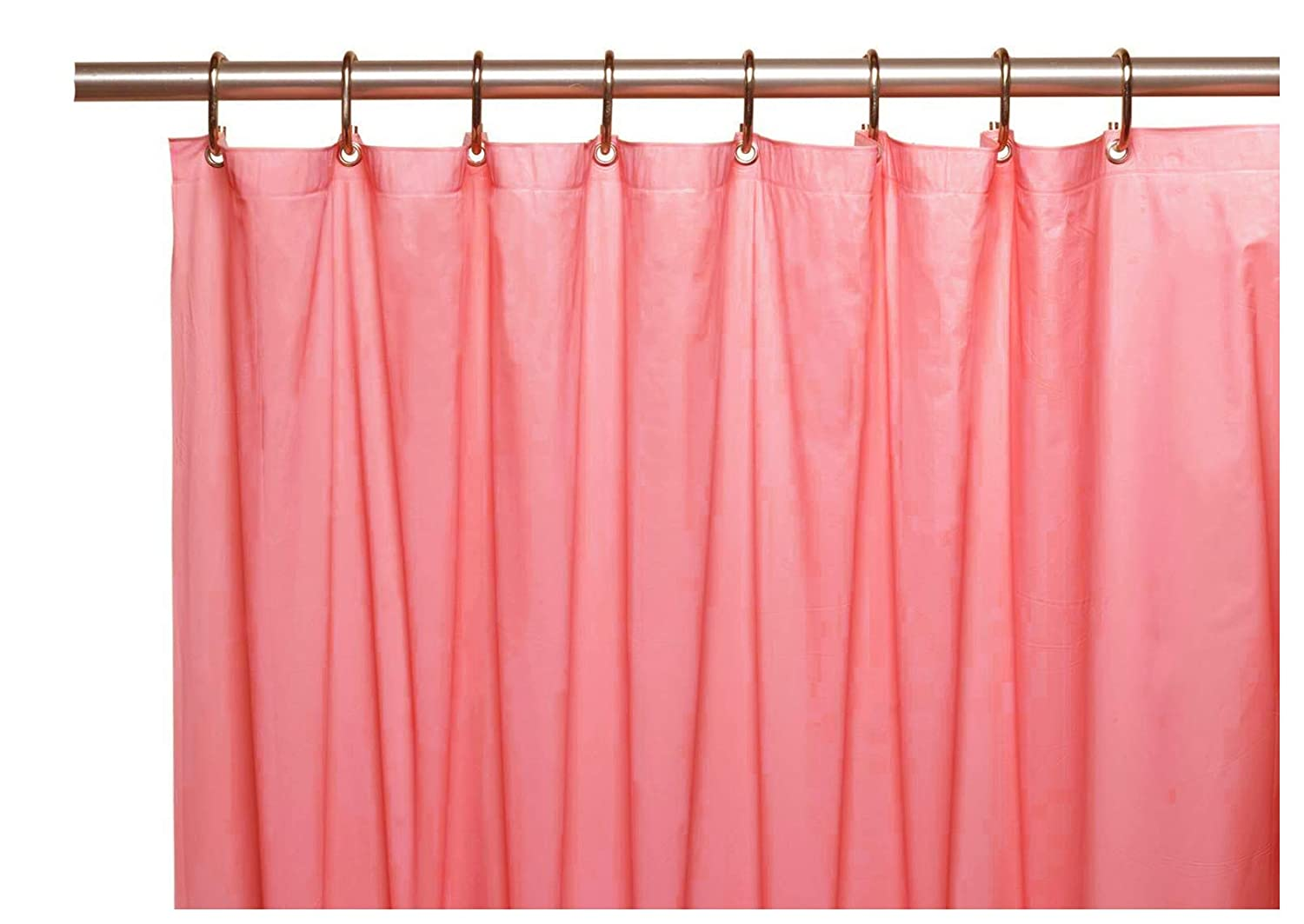 Amazon Elegant Home Heavy Duty Vinyl Shower Curtain Liner With 12 Metal Grommets Dusty Rose Kitchen