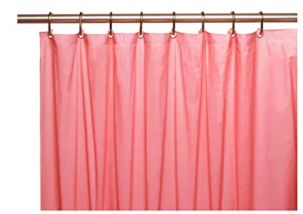 Amazon Elegant Home Heavy Duty Vinyl Shower Curtain Liner With