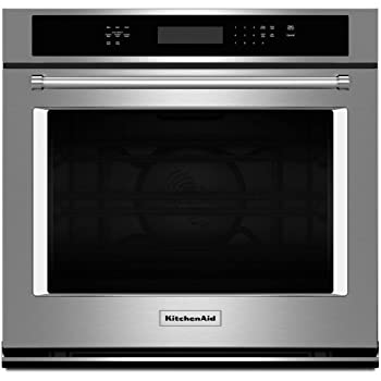 KitchenAid 30 Inch Stainless Convection Single Wall Oven