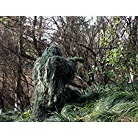 ABCAMO Adult Size Woodland Camouflage Ghillie Suit for...