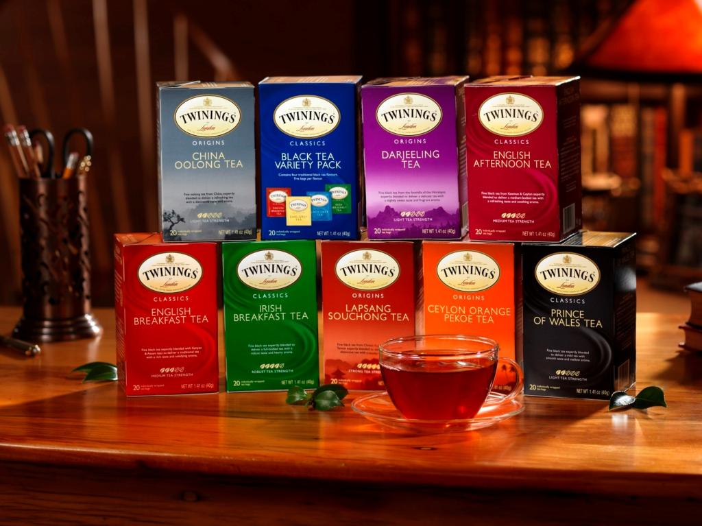 Twinings black tea irish breakfast 20 count - Marcas de te ...