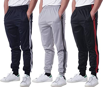 Real Essentials 3 Pack: Men's Active Athletic Casual Jogger Sweatpants with  Pockets at Amazon Men's Clothing store