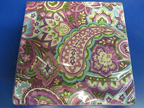 Paisley Paper Napkins - 8