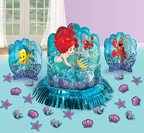 Disney Ariel The Little Mermaid Dream Big Table Decorating Kit 23 pieces Party Supplies]()