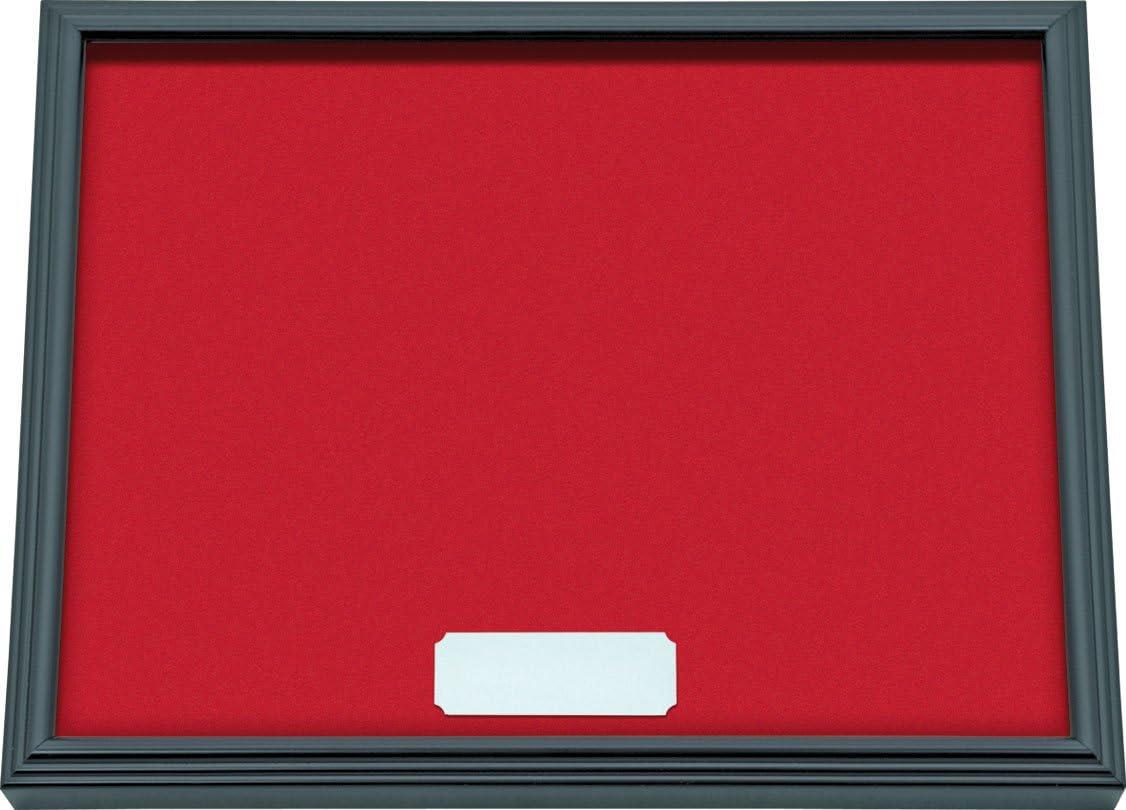 32 x 25 cm 3.5x32x25 cm IMEX EL ZORRO El Zorro 54039-Expositor navajas Rojo con Cristal
