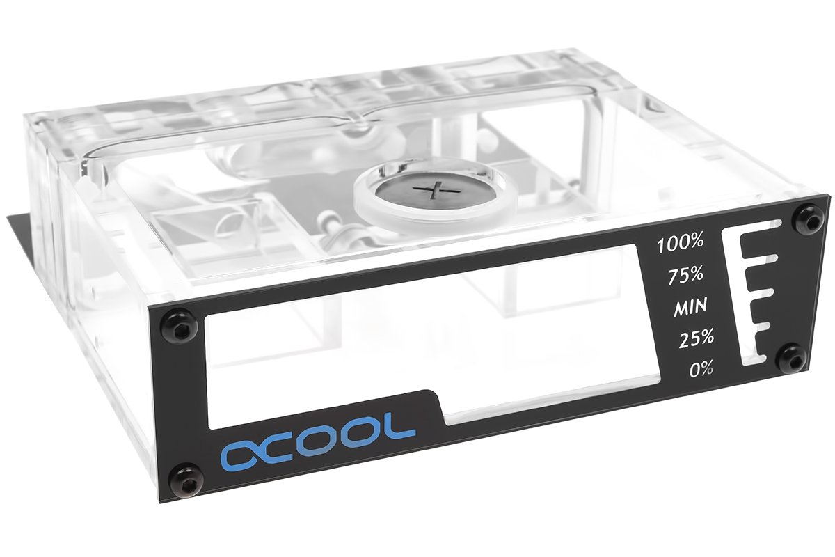 Alphacool 15165 Repack - Laing DDC - 5,25 Bay Station Water Cooling Reservoirs