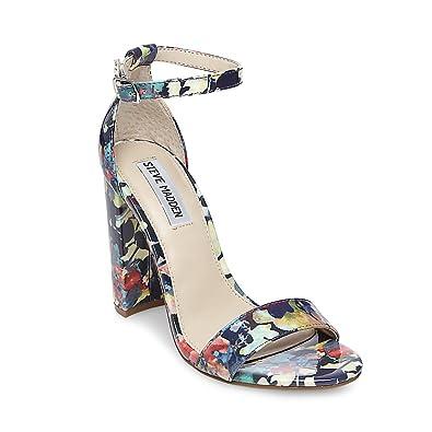 Steve Madden Carrrson Snake Print Dress Sandals LApaiYclBz