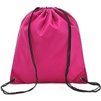 Leisial Imperméable Sac à cordon Sac en tissu Oxford pour élégant Piscine Plage Sport Gym Sac de Randonnée Voyage Drawstring Bag