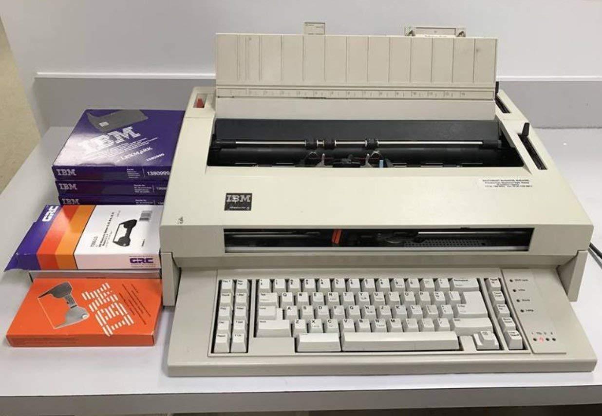 IBM WHEELWRITER 5 Electronic typewriter P/N 5441 (Certified Refurbished) by IBM