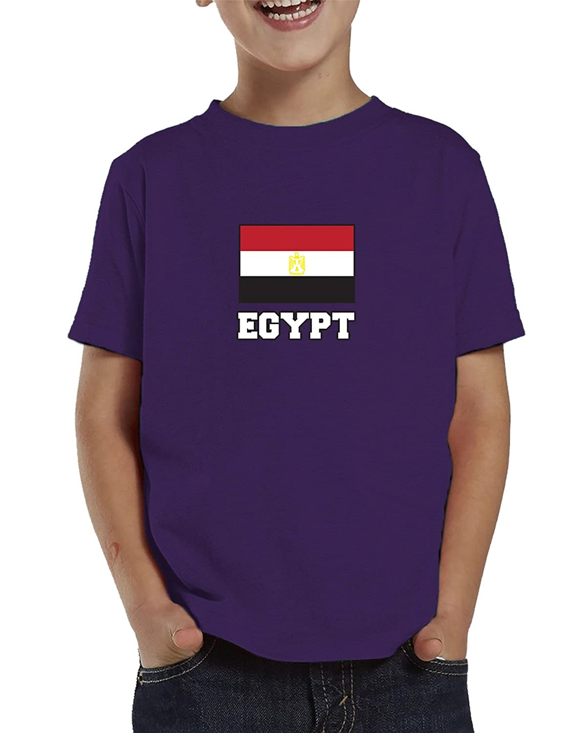 SpiritForged Apparel Egypt Flag Toddler T-Shirt