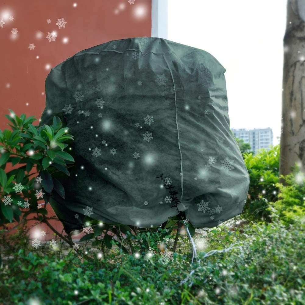 4 Gr/ö/ße gaeruite Winterschutz K/übelpflanzensack mit Seil