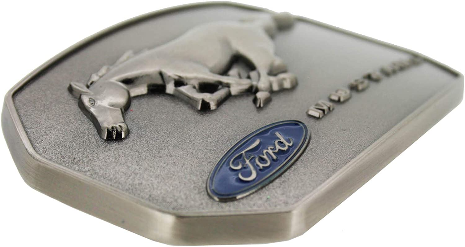 OFFICIALLY LICENSED FORD MUSTANG PONY BELT BUCKLE