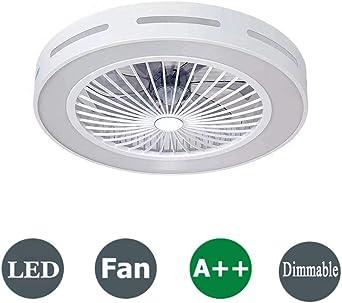 Luz de ventilador de techo moderna Con control remoto e ...