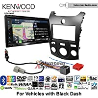 Volunteer Audio Kenwood Excelon DNX694S Double Din Radio Install Kit with GPS Navigation System Android Auto Apple CarPlay Fits 2011-2013 Kia Forte (Black)
