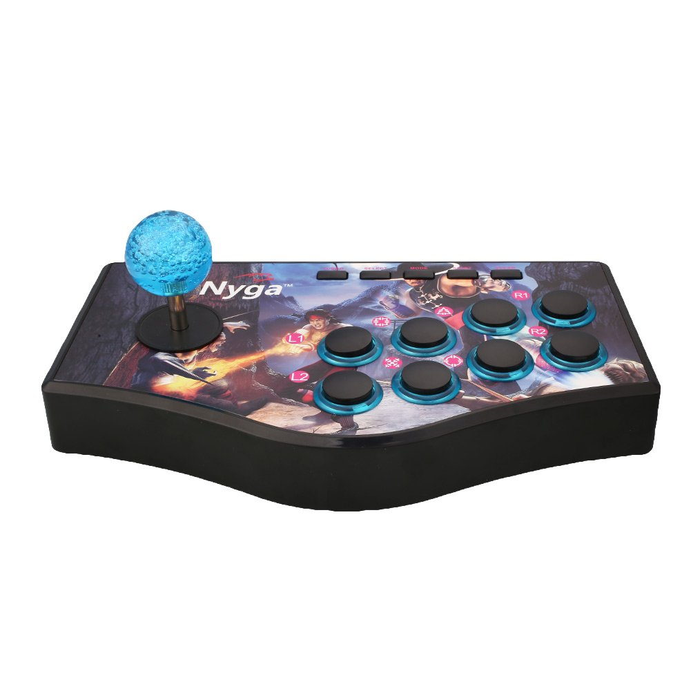 Cewaal Wired Arcade Street Joystick Gamepads Fighting Stick USB Game Controller For PS2 PS3 PC