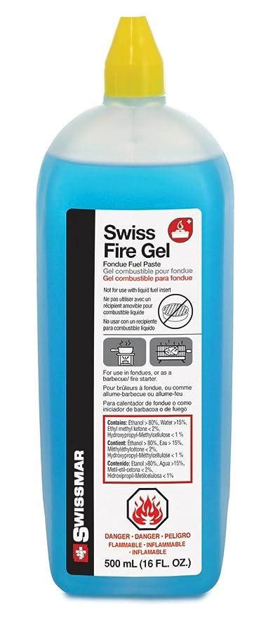 Swissmar Swiss Fire Gel Small Bottle, Set of 10
