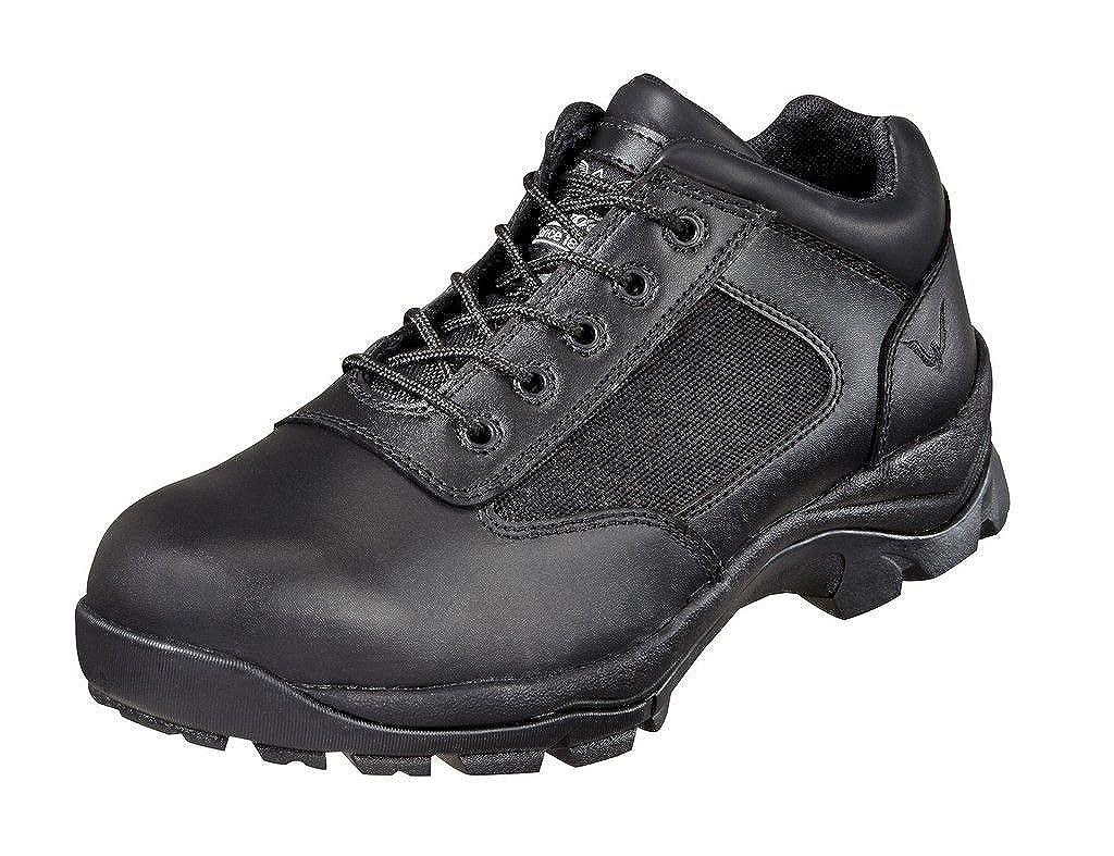 Thorogood Men's Academy Uniform Non-Safety Toe Oxford Shoe Black - 11.5 W US 834-6042