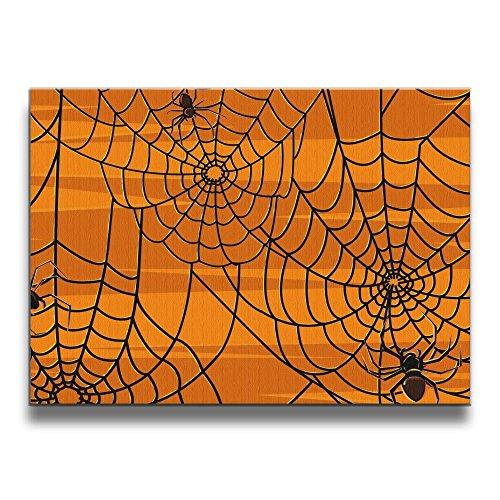 Halloween Spider Webs None Frame Decorative Painting For Living Room (Funny Halloween Gifs)