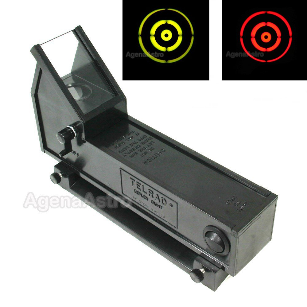 Telrad Telescope Reflex Finder with Mounting Base and Selectable Red / Green Illumination by Telrad