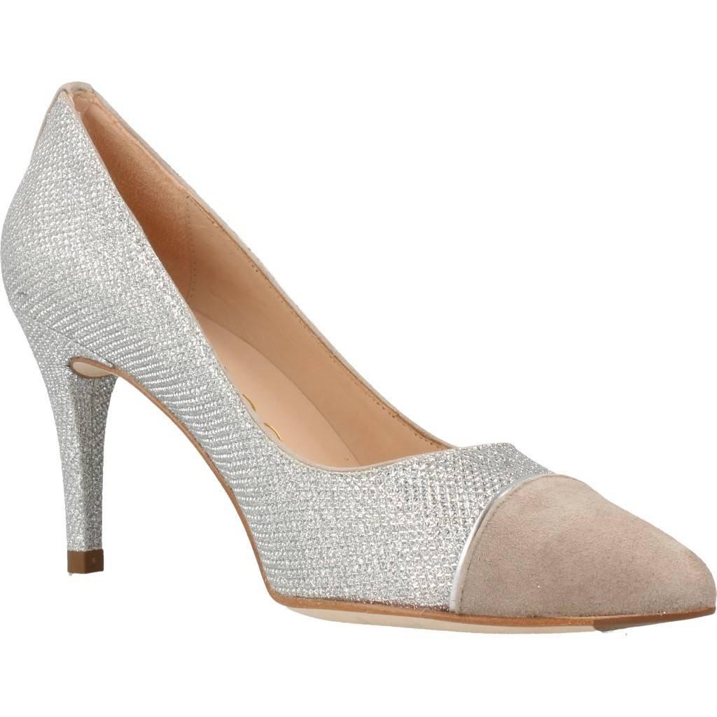 UNISA Chaussures à Talon, Color Argent, Marca, Modelo Chaussures à Talon TRICO Ev Argent