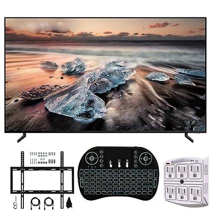Samsung Q900 QLED Smart 8K UHD TV (Modelo 2019) (Enewed) con kit ...