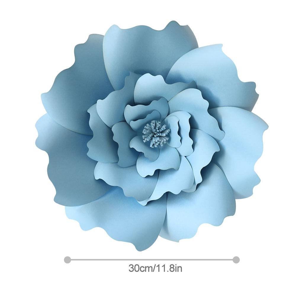 Paper Flower Template Kitfoonee 3d Paper Flowers Decorations Diy