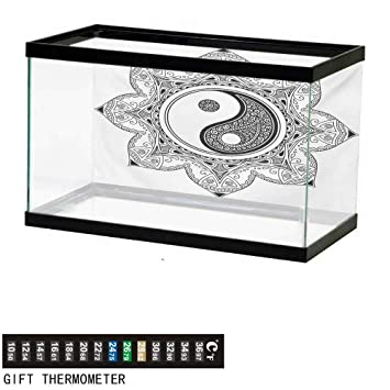 Amazon Com Wwwhsl Aquarium Background Ying Yang Asian Yin Yang