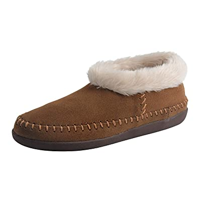riemot Womens Mens Fuzzy Slippers Faux Fur Winter Warm Indoor Shoes Anti Skid Comfy House Slippers   Slippers