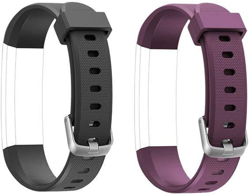 ToThere ID115U Replacement Bands – Adjustable Replacement Straps Replacement Bands for ID115U Fitness Tracker Slim Smart Wristbands