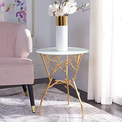 Safavieh Home Collection Tara Branched Glass Top Accent Table