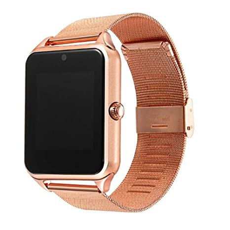 LARDOO Reloj Inteligente GT08 Plus Correa de Metal Bluetooth ...