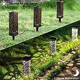 MAGGIFT Solar Garden Lights Outdoor Solar Pathway