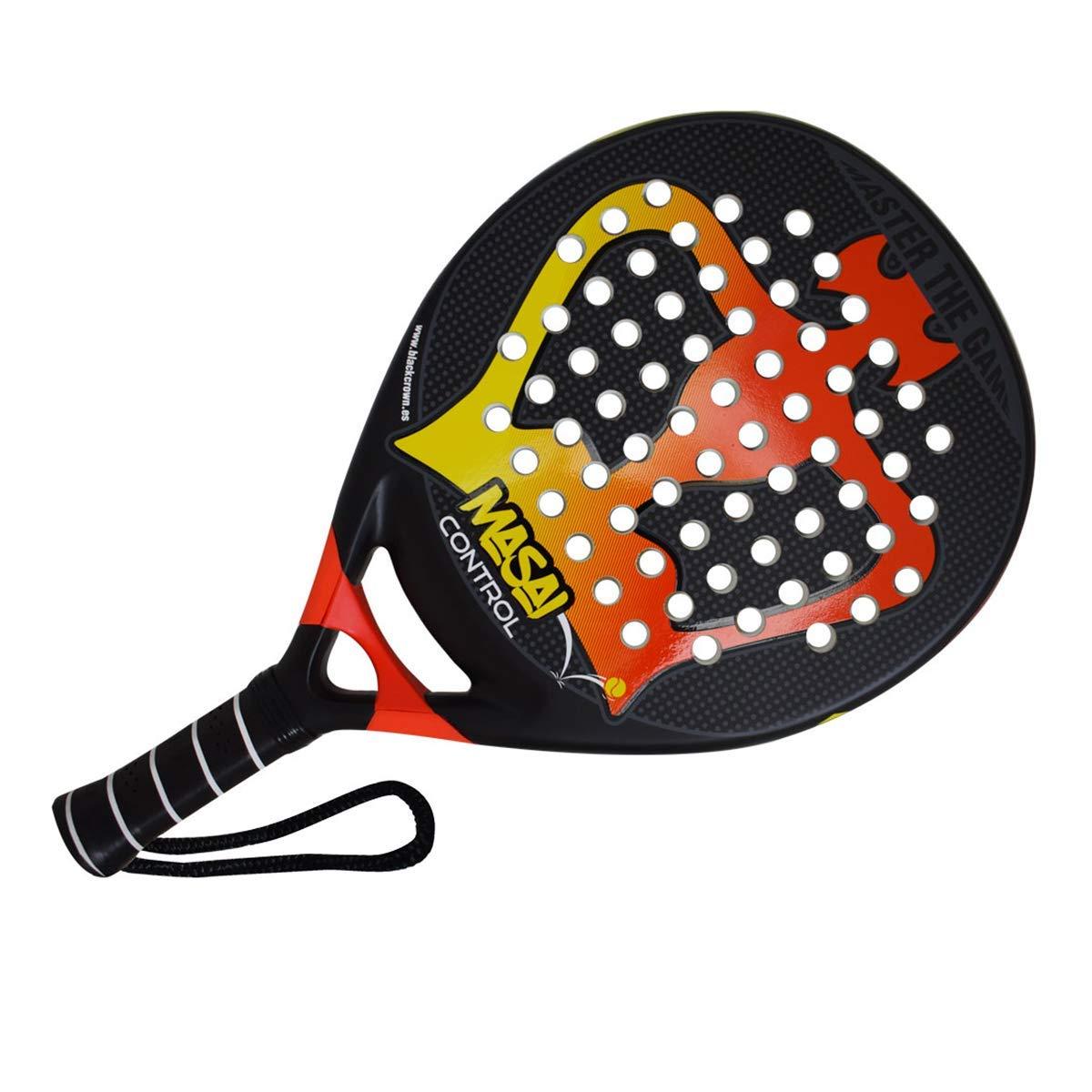Pala de Pádel Masai Control - Black Crown: Amazon.es: Deportes y ...