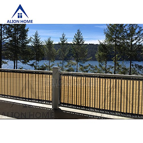 Hdpe Fade Resistant Privacy Screen For Patio Balcony Fence