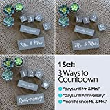 Wedding Countdown Calendar Block Engagement Gifts