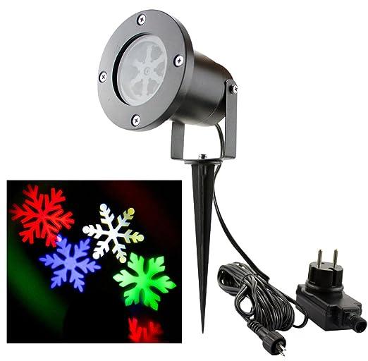 25 opinioni per Bloomwin Proiettore Luce di Fiocco di Neve Spotlight di Paesaggio Lampada LED