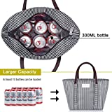 BALORAY Insulated Lunch Bag Leak-proof Cooler Bag