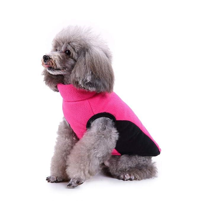 Amazon.com: Cywulin - Chaleco cálido para perro, para clima ...