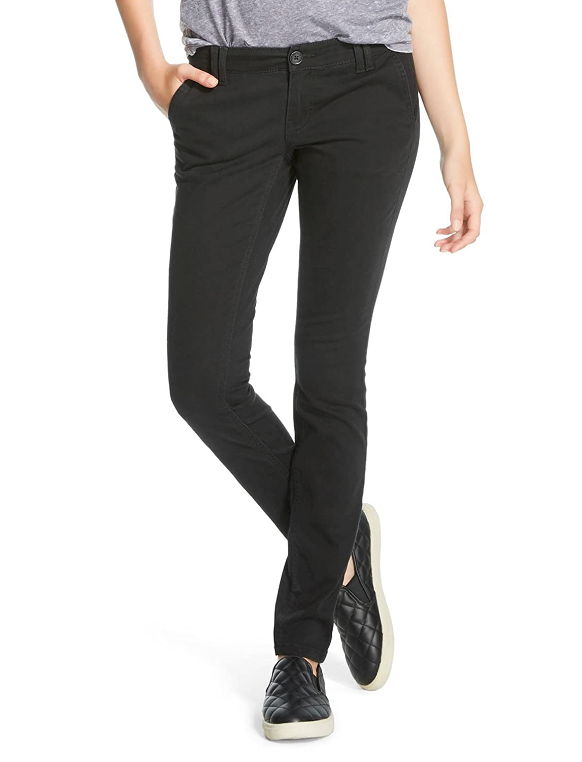 f2144a4fc7268 Front slit pocket, Back single welt pocket. Skinny Machine wash, cold,  Khakis meet skinny jeans in the Skinny Twill Pant from Mossimo Supply Co.