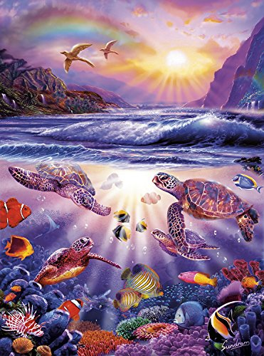 (Buffalo Games - Marine Color - Turtle Bay - 1000 Piece Jigsaw Puzzle)