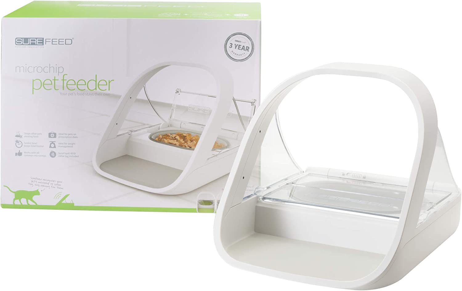 61ciFN2qszL. AC SL1500 - Best automatic feeder for cat: 12 products reviewed