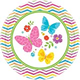 Best Sunday Inc Picnic Tables - Celebrate Spring Round Paper Dinner Plates Disposable Party Review