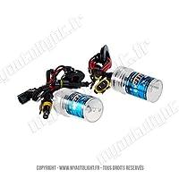 2 ampoules H7 5000K - 55W de rechange pour Kit Xénon HID