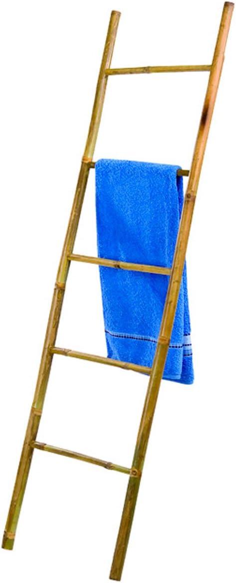 A.B.M. SARL Escalera toallero 5 peldaños bambú: Amazon.es: Hogar