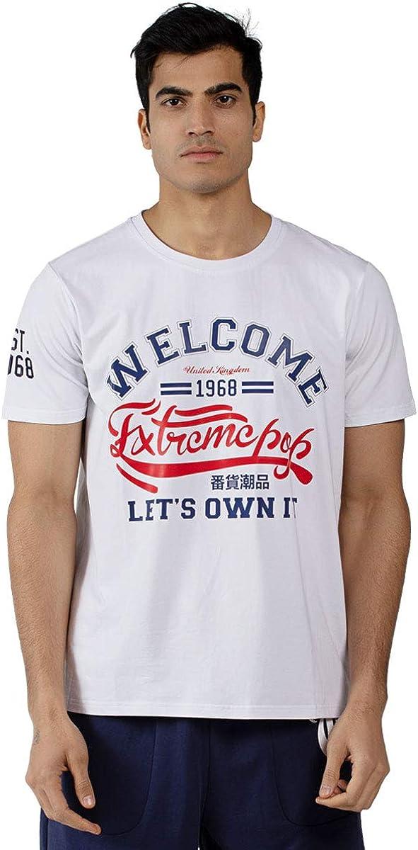 Camiseta con Cuello Redondo de impresión Digital Camisetas de ...