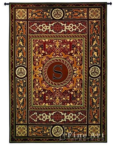 Monogram Tapestry - Fine Art Tapestries