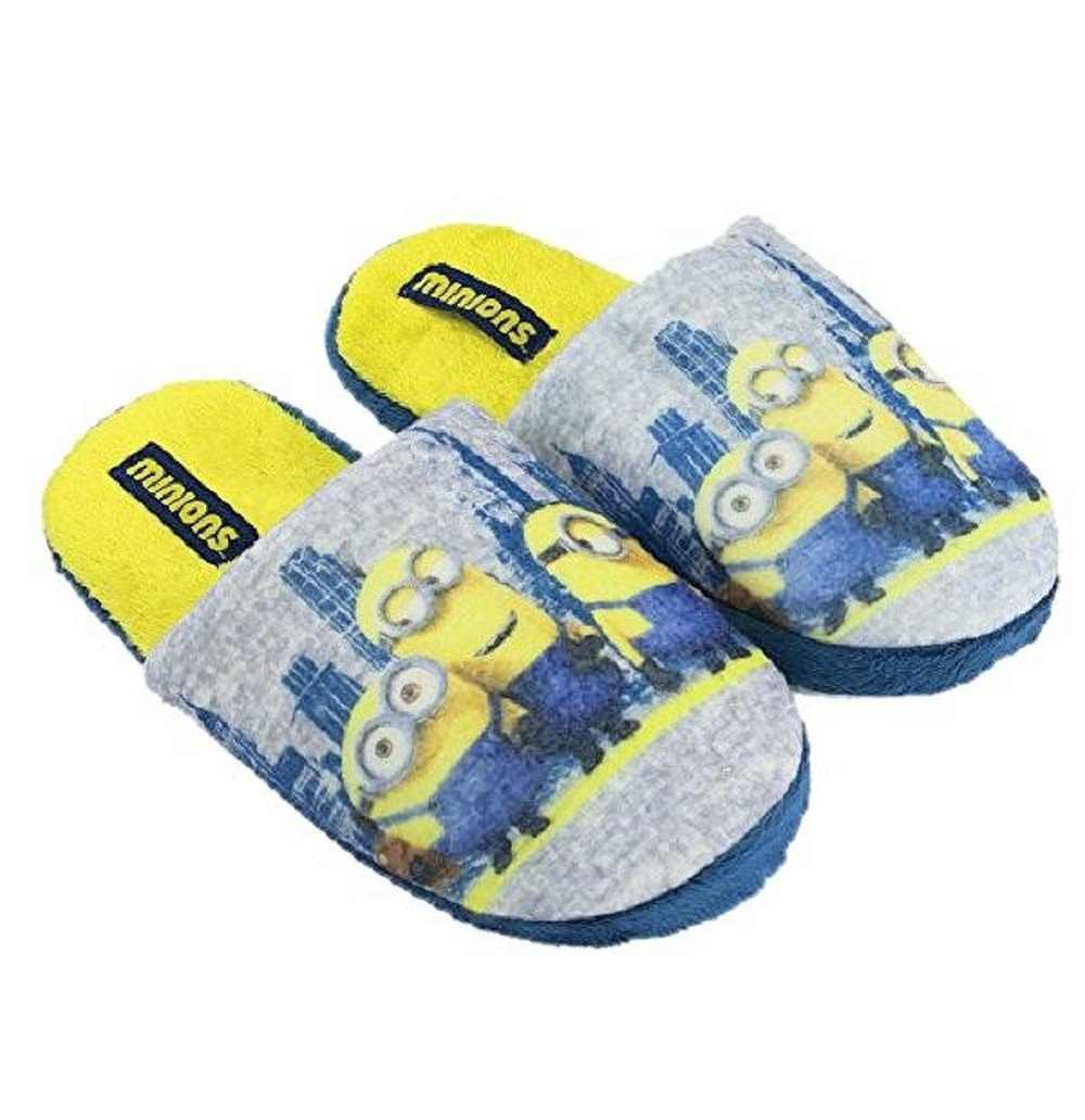 MINIONS Despicable Me 2 Camera In Plush Slippers Slippers From Child UN93601:  Amazon.co.uk: Shoes & Bags