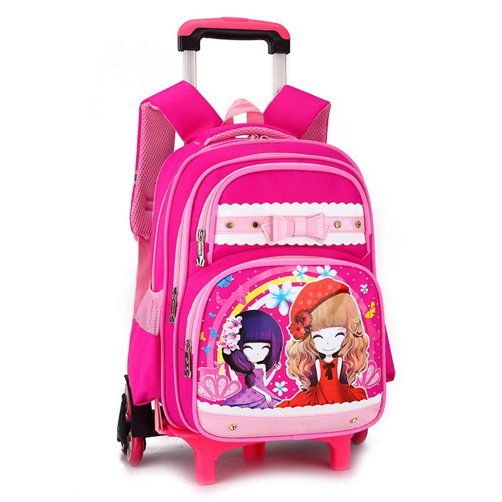 Amazon.com: Geromg - Bolsas para niños y niñas, 3 ruedas ...