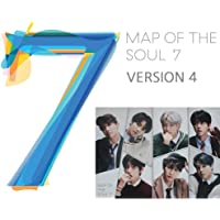 MAP of The Soul : 7 BTS Album (Version 4) CD+Official Poster+Photo Book+Lyric Book+Mini Book+Photocard+Postcard+Coloring…