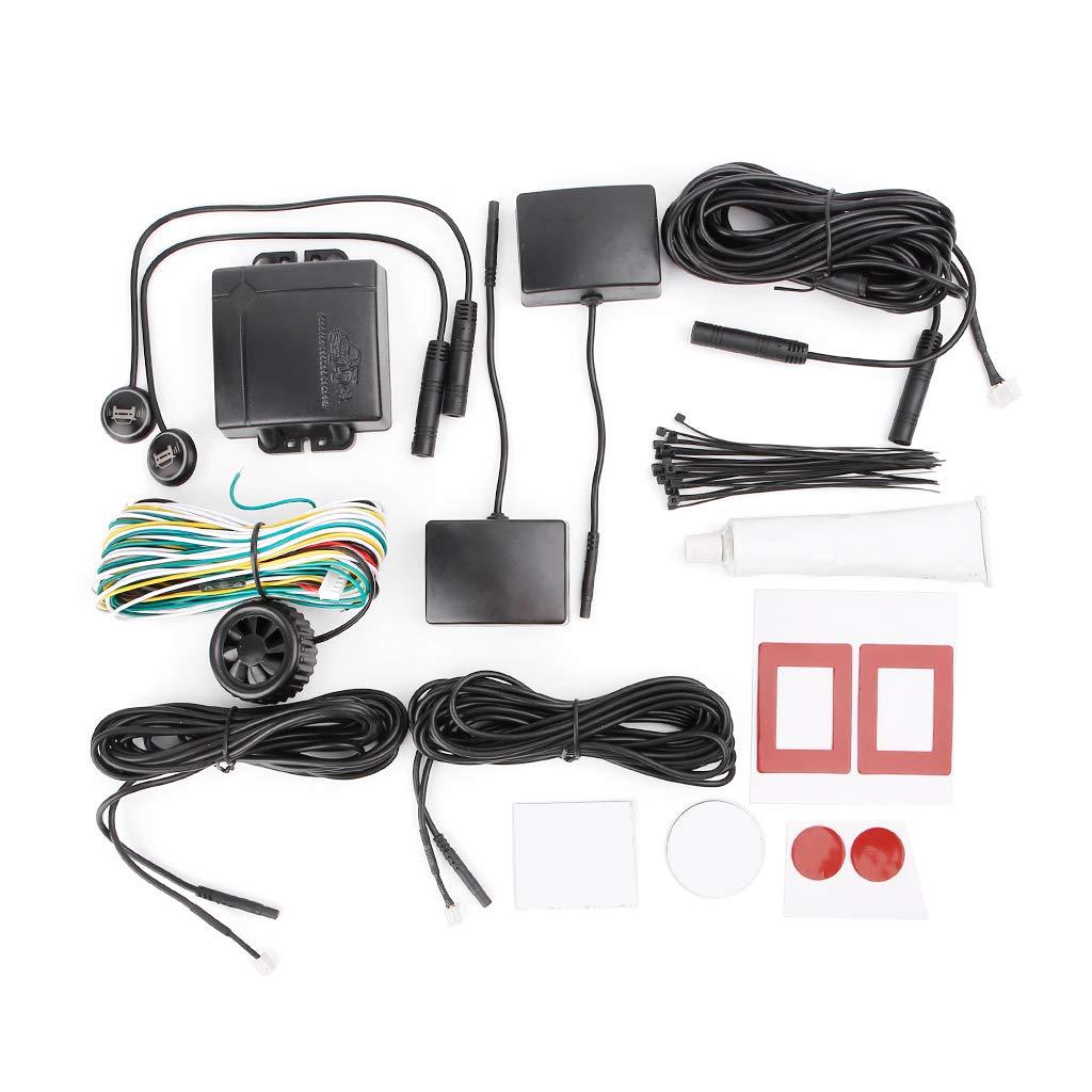 ECMQS Auto Blind Stelle Ü berwachung, BSD BSA BSM Radar Erkennung System Mikrowelle Sensor Assistent Auto Fahren Sicherheit